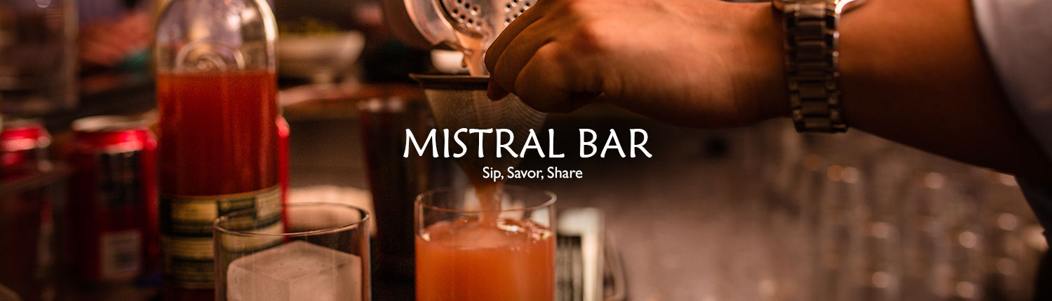 The Bar at Mistral Princeton With Daily Happy Hour Specails
