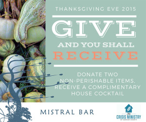 Give And You Shall Receive This Thanksgiving Eve